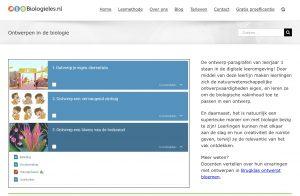 Biologie Biologieles.nl Ontwerpen Ontwerpopdrachten Ontwerpend leren VO